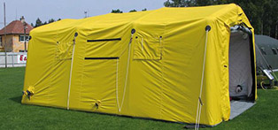 Mobile tent systems